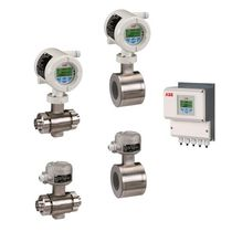 sanitary electromagnetic flow-meter (EMF)  ABB Measurement Products