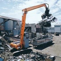 scrap grab  HITACHI Construction Machinery