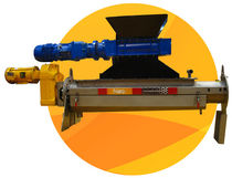 screw compactor Screwpactor&amp;trade; Headworks Bio Inc. 