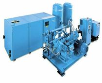 screw compressor for the manufacture of PET plastic bottle (stationary) 1 150 - 3 000 m³/h, 10 - 40 bar | BS series SIAD Macchine Impianti