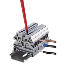 screw connection terminal block  Klemsan Automation