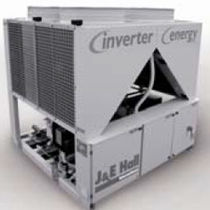 screw type air cooled condensing unit for outdoor installation max. 164 kW J & E Hall International