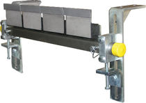 secondary conveyor belt cleaner 18'' - 96'' | Razor-Back® ASGCO Manufactirung