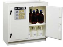security storage: cabinet for acids and bases max. 933 x 914 x 552 mm Justrite