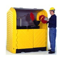 security storage: cabinet with retention container Hard Tops Breg International