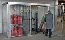 security storage: cabinet for gas bottles GFC-M/GFC/GFD Bauer