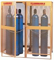 security storage: cabinet for gas bottles  LYON