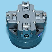 self-centering lathe power chuck 13 500 - 206 000 N, 3.8 - 44 mm | MPAF/4 series OMIL