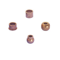 self-lubricating sintered bronze plain bearing 40 N/mm² Jiande Sinfine Powder Metallurgy Factory
