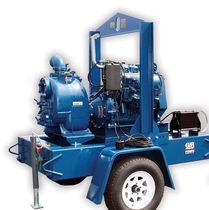 self priming centrifugal engine-driven pump max. 3500 gpm (221 l/s) | Super T series GORMAN-RUPP INT. CO.