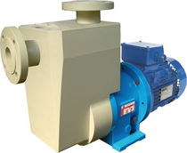 self-priming plastic centrifugal pump for corrosive fluids max. 70 m³/h, max. 32 m | CSP MAG-P M PUMPS