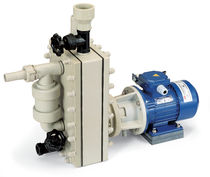 self-priming plastic centrifugal pump for corrosive fluids max. 16 m³/h | PA series Barbera Savino
