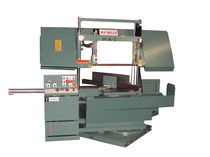 semi-automatic dual column miter horizontal band saw M-16-2 WF Wells Inc