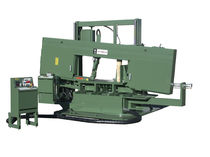 semi-automatic dual column miter horizontal band saw M-36-3 WF Wells Inc