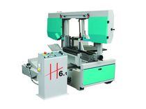 semi-automatic dual column miter horizontal band saw max. ø 500, 450, 610 x 450 mm | H 601 SHI  imet spa
