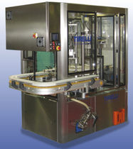 semi-automatic filler and capper for liquids 20 - 30 p/min | Monobloc 2E Tirelli