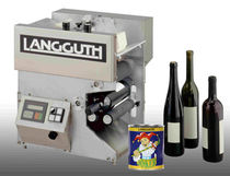 semi-automatic labeler max. 1 500 p/h | wetLAN® 190 Langguth & Co