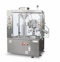 semi-automatic tube filler and sealer max. 2 500 p/h, 1740 x 950 x 2230 mm | E250 TGM - TECNOMACHINES srl
