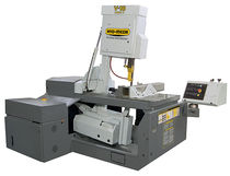 semi-automatic vertical miter band saw 45&deg; | V-18 HYDMECH