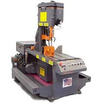 semi-automatic vertical miter band saw  HE&amp;M