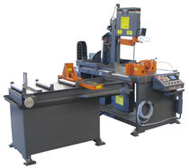 "semi-automatic vertical miter band saw 18  x 22.25"" (457 x 565 mm), 5 HP 