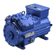 semi-hermetic reciprocating refrigeration compressor max. 33.1 m&sup3;/h, max. 35 bar  | HG R407C series GEA Bock