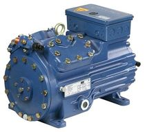 semi-hermetic reciprocating refrigeration compressor max. 66.1 m&sup3;/h | HGX34P series GEA Bock