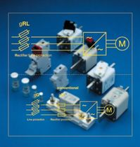 semiconductor protection gS type fuse 6 - 800 A, 500 - 690 A | URL SIBA