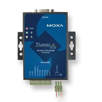 serial - serial converter RS-232, RS-422, RS-485 | TCC-100/100I series Moxa Europe