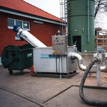 sewage sludge screening machine Ro 3 Huber Technology