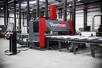 sheet metal combined cutting and drilling machine max. 3 050 x 12 100 x 75 mm | V320C, V330C Voortman Steel Machinery