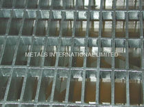 sheet metal grating BS 4592, AS1657 Metals International Limited
