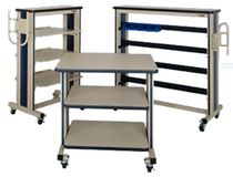 shelf cart  IAC INDUSTRIES