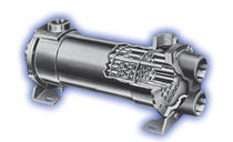 shell and tube heat exchanger 150 - 250 psi, max. 450 °F | SSCF series Standard Xchange