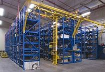 shelving with overhead stacking crane STAK System® VIDMAR