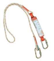 shock absorbing fall arrest lanyard &oslash; 12 - 14 mm, 1 - 2 m, EN 354 GROUPE RG