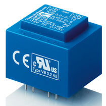short circuit proof PCB transformer 0.35 ‑ 3.2 VA | AVB series  Block Transformatoren-Elektronik