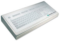 short-travel industrial keyboard 0.3 mm, 2.6 N, IP65 | KS02010 INDUKEY