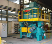 shot blasting machine for metallic wire and bar SWS OMSG - OFFICINE MECCANICHE SAN GIORGIO SpA