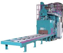 shot blasting machine with roller conveyor for plates and sheet metal max. 18.5 kW | RATIOJET series SciTeeX Ltd
