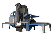 shot blasting machine with roller conveyor for plates, sections and structures  Blasting SA