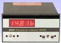 signal conditioner for LVDT transducer with digital display 0 - 150 Hz | E308/9 RDP Electronics