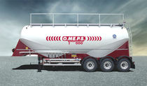 silo semi-trailer for sand and fly ash max. 42 m³ | CM 42 OMEPS
