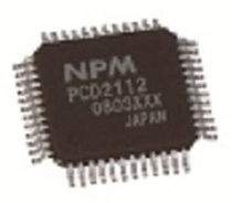 single-axis motor control integrated circuit 2.4M pps | PCD2112 Nippon Pulse