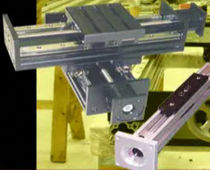 single-axis positioning table max. 700 in/sec Macron Dynamics