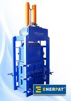single chamber vertical baling press (textile, cloth) TB-F300 Enerpat Machine Co.,Ltd