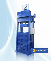 single chamber vertical baling press (textile, cloth) TB-F Enerpat Machine Co.,Ltd