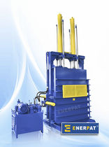single chamber vertical baling press (tires) SIX-two Enerpat Machine Co.,Ltd