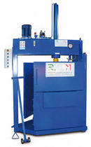 single chamber vertical baling press (paper, cardboard) 6 - 200 t | PC series R.C.M. srl