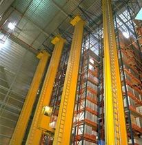 single depth stacker crane  ALSTEF AUTOMATION